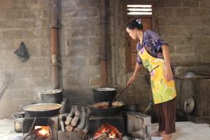 Pemasakan nira dengan pemanasan